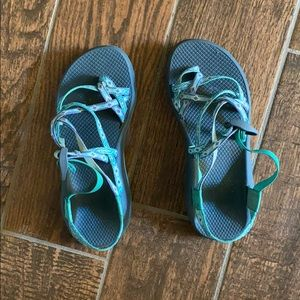 Teal chacos classic
